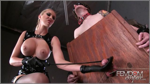 Evil edging session femdom missbratdom 2