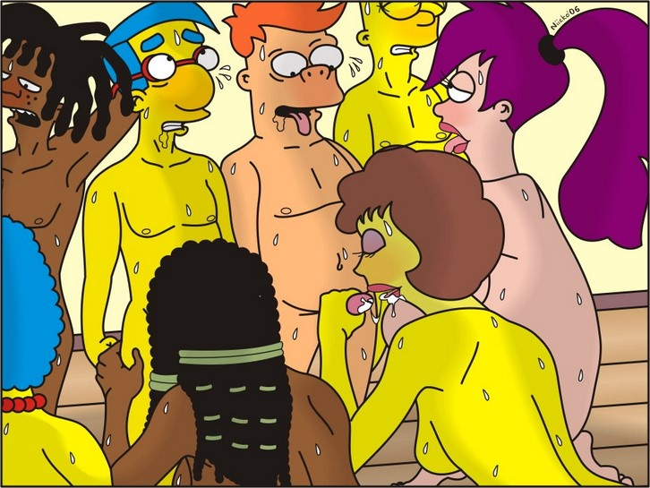 Los Simpsons Y Futurama Mini Ics Porno