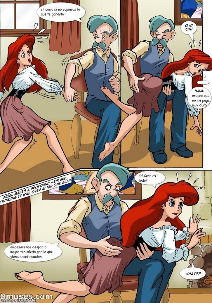 порно комикс ариель