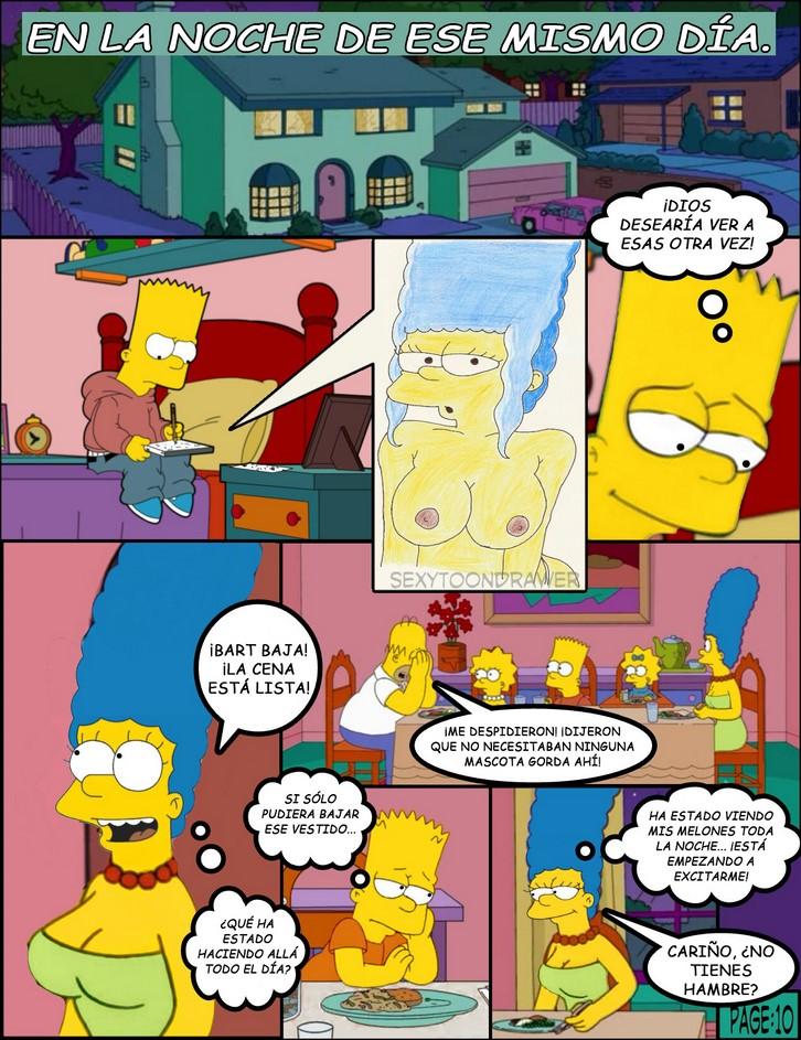 Симпсоны жаркий день комикс порно