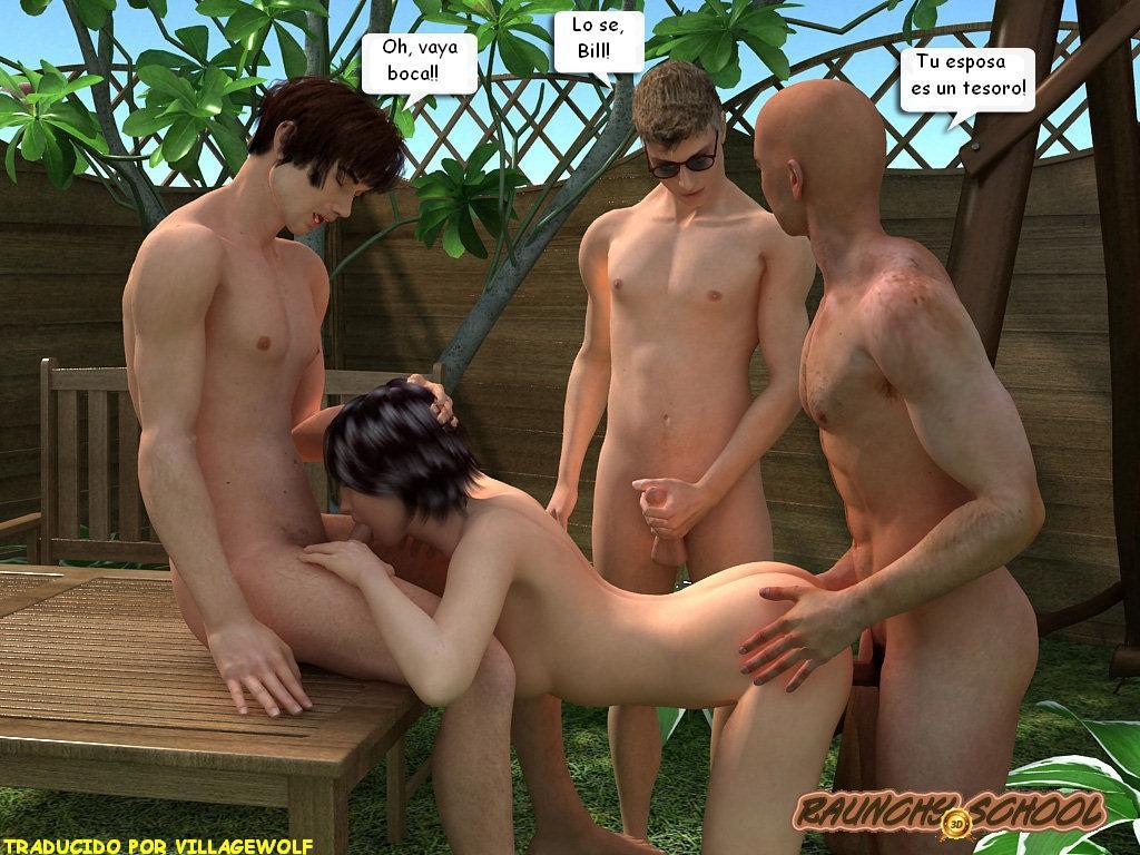 Amateur Esclavo Esposa Humillada Gangbang -