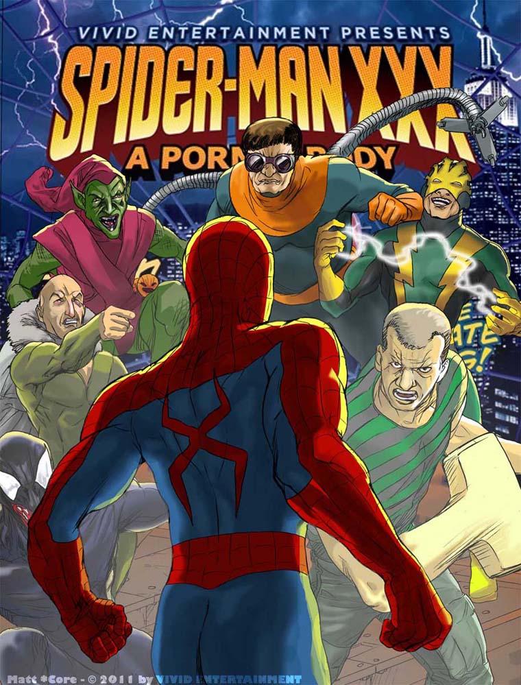spider man xxx