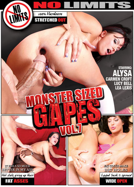 Monster Sized Gapes 7 (2014)
