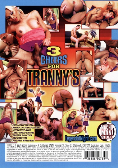 3 Cheers For Tranny's (2007)