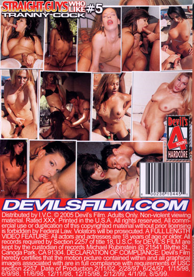 Straight Guys Who Like Tranny Cock 5 (2005)