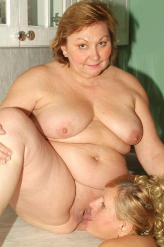 Anna and Yolanda are hefty blondes