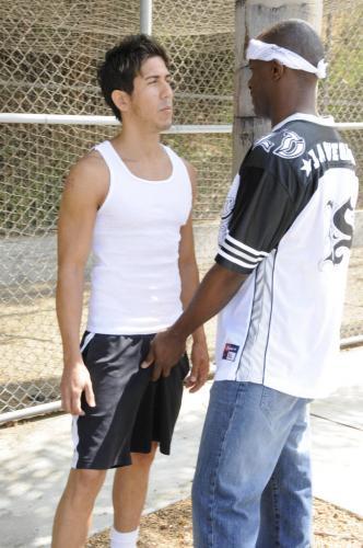 Naughty gay lovers Justin Blayde and Jack Spade