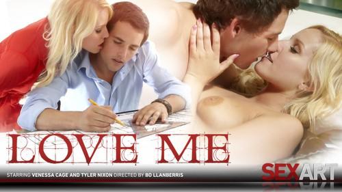 Sex Art - Vanessa Cage & Tyler Nixon – Love Me 2012-05-10