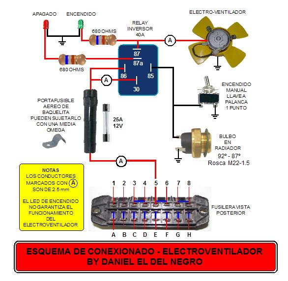 necesito saber sobre el circuito del electro del uno