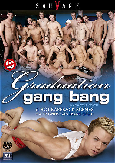 [Gay] Graduation Gang Bang 1