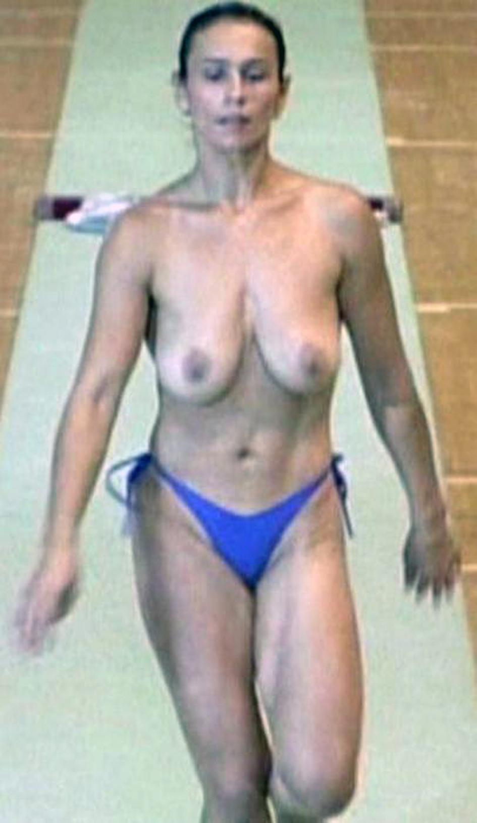 largest boob size