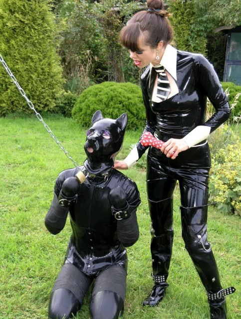 7 mistresses take turns otk spanking a sub 3
