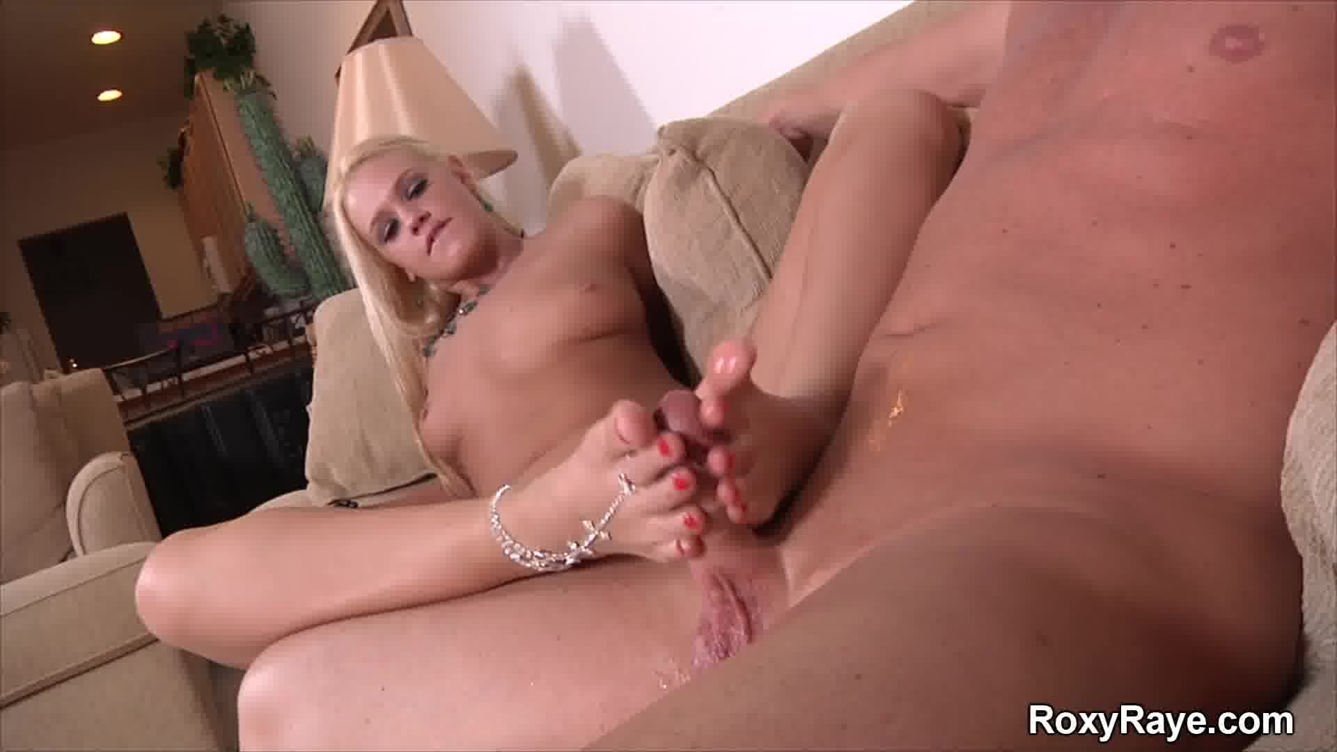 [Roxy Raye] My First Footjob