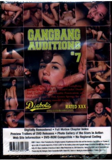 Gangbang auditions 7 scene are