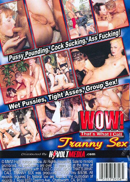 Wow! That's What I Call Tranny Sex (2002)