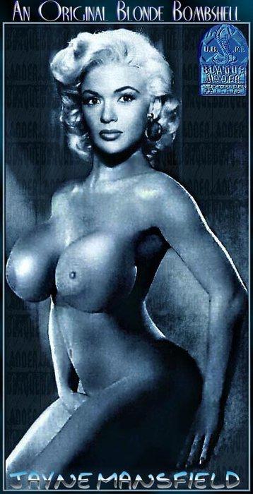 nude photos of jayne mansfield № 78696