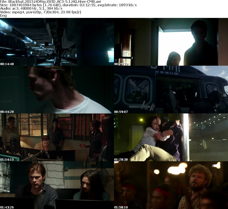 Blackhat 2015 HDRip XVID AC3-5 1 HQ Hive-CM8