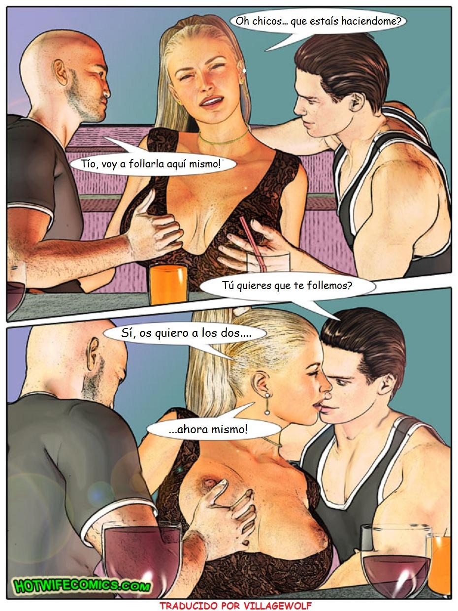 Эротические комиксы с женой в 3 фотография