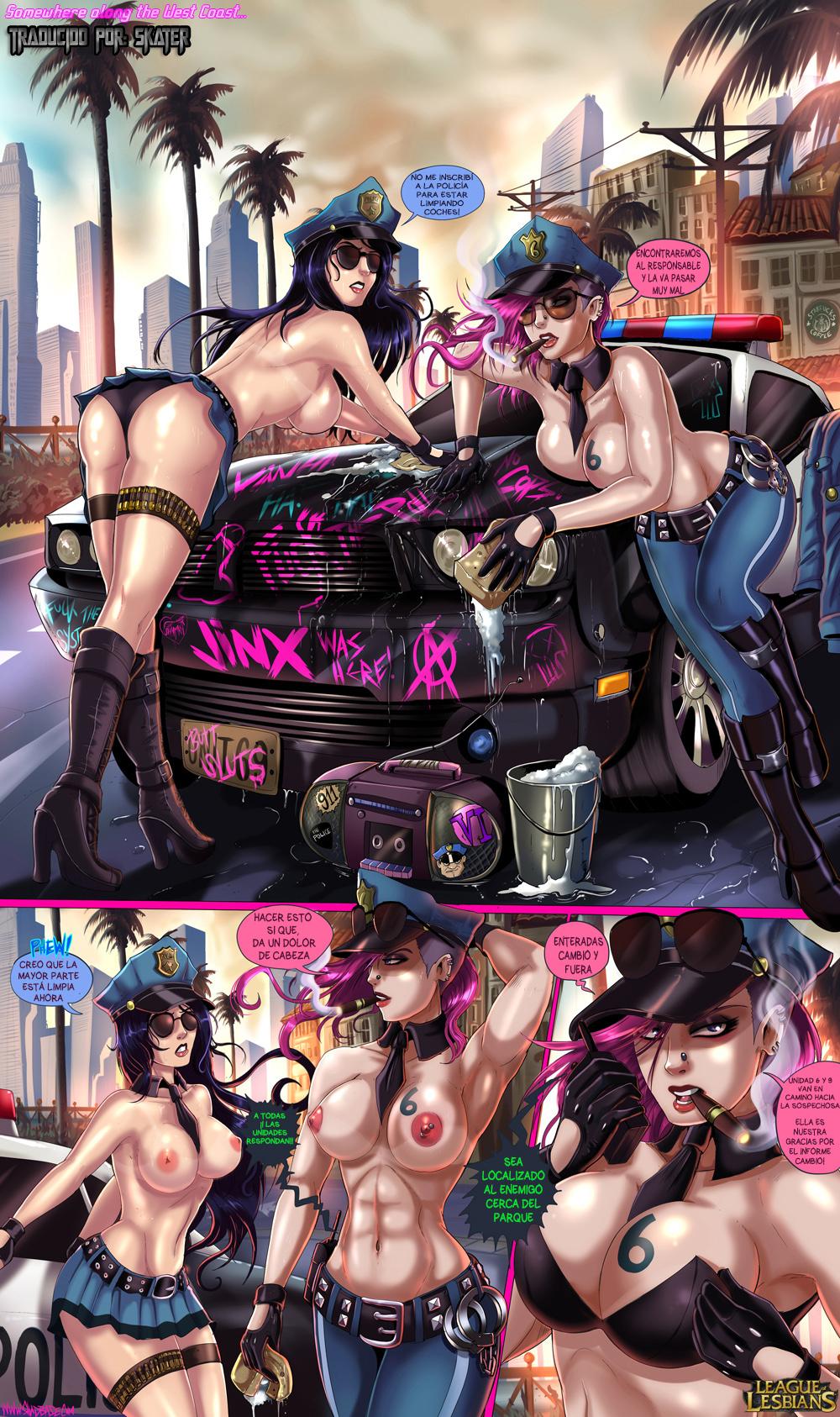 Juego de lesbianas 5 - 2 part 2