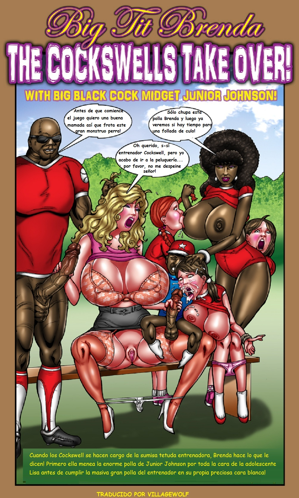 junior big tit brenda smudge   comics porno