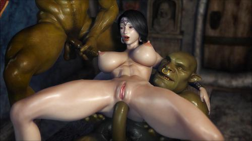 3d monsters fucking kunoichi 9