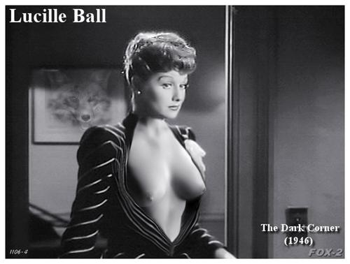 Not very naked lucille ball