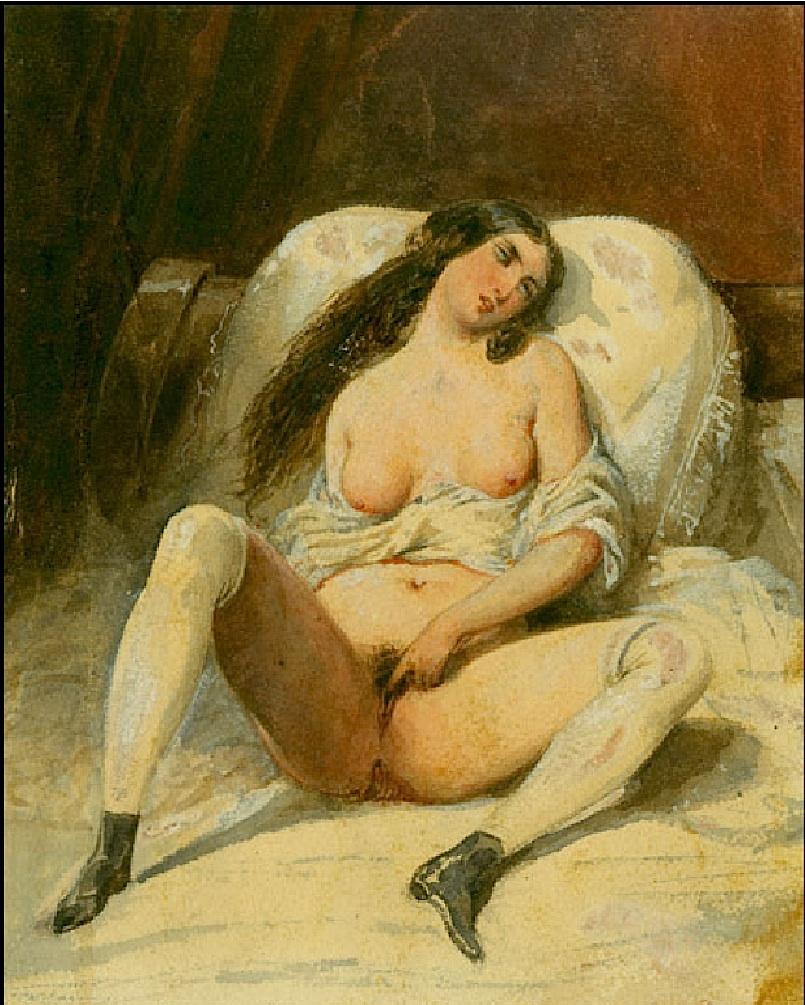 Французские порно рисунки 18 19 веков.
