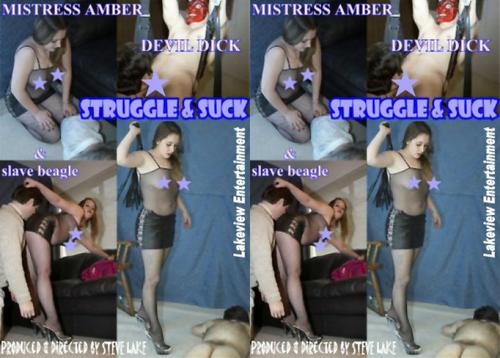 Struggle & Suck Female Domination