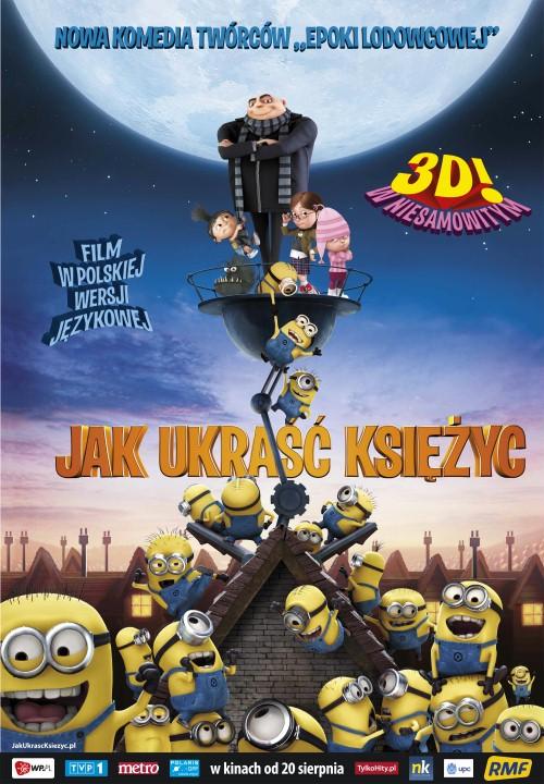 Jak Ukrasc Ksiezyc / Despicable Me (2010) 720p BRRip Dubbing PL