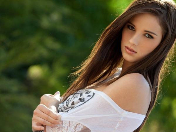 фото красивий девушка