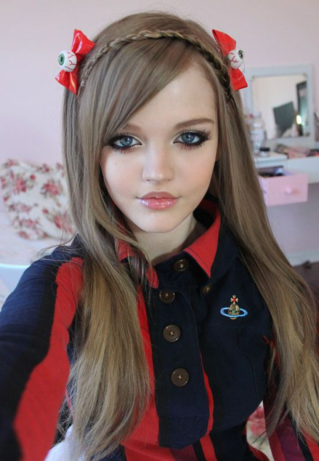 Dakota Rose y su efecto Barbie.
