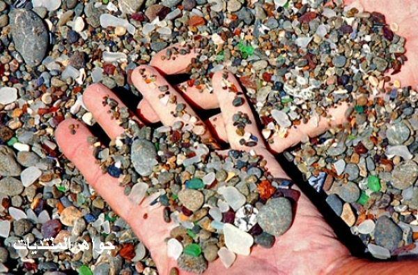 La playa de cristal. Californiana.