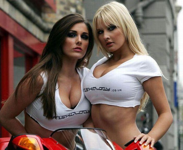 Ducati Girls...