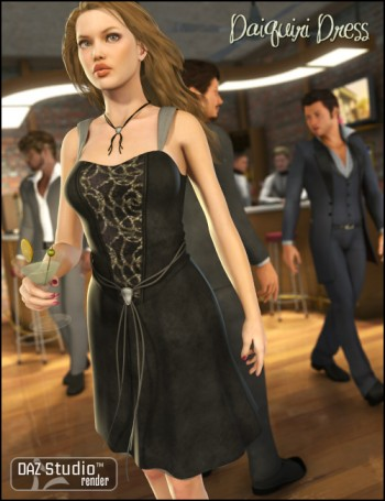 Daiquiri Dress for V4 - Unimesh Fits