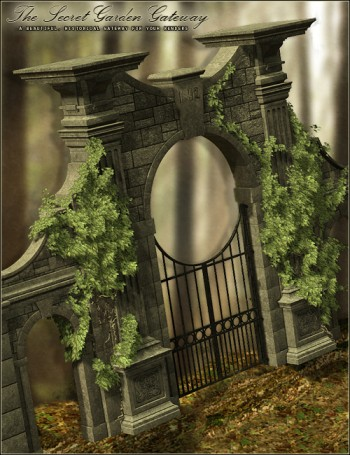 The Secret Garden Gateway - Aged for The Secret Garden Gateway