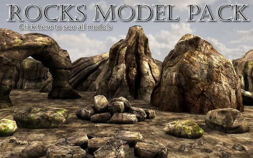 Rocks model pack by Martin Teichmann