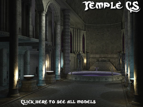 Temple Construction Set model pack by Pablo Ariel