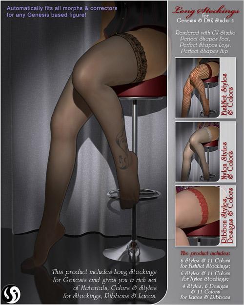 Long Stockings for Genesis
