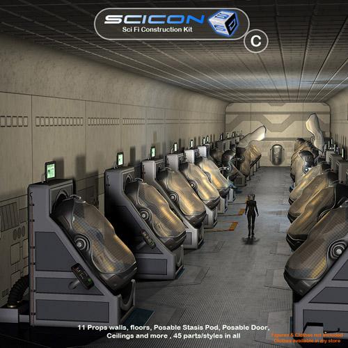 Scicon SciFi Constructor Set C