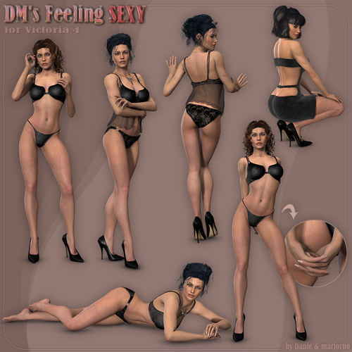 models Erotic poser