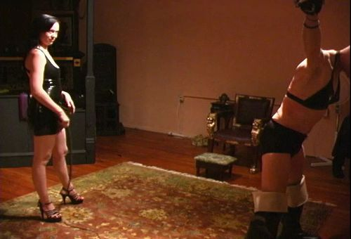 Bullwhipping Female Domination