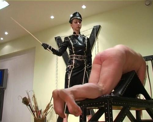 Female Officer Cane Female Domination