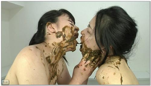 Lesbo Scat 020914 Asian Scat Scat Lesbian