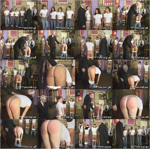 Induction Day Spanking