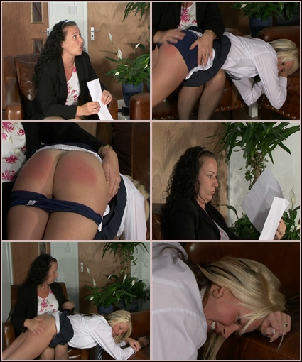 Jodie Bend Over   Spanking