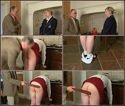 Disobedience Needs A Strapping   Spanking