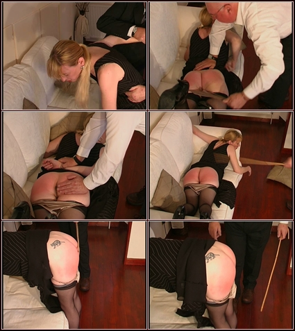 Shanelle's Punishment  Spanking