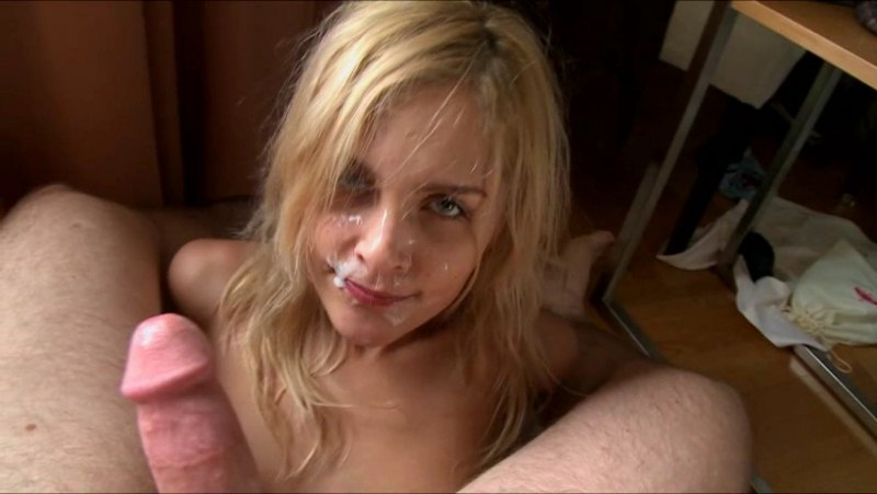 facial cumshot chicks