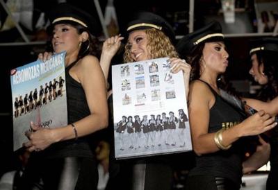 Aeromozas Mexicanas Calendario 2011 2