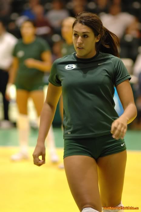 Wonderful Women39s Sexy Spandex Volleyball Shorts  Gallery  EBaum39s World
